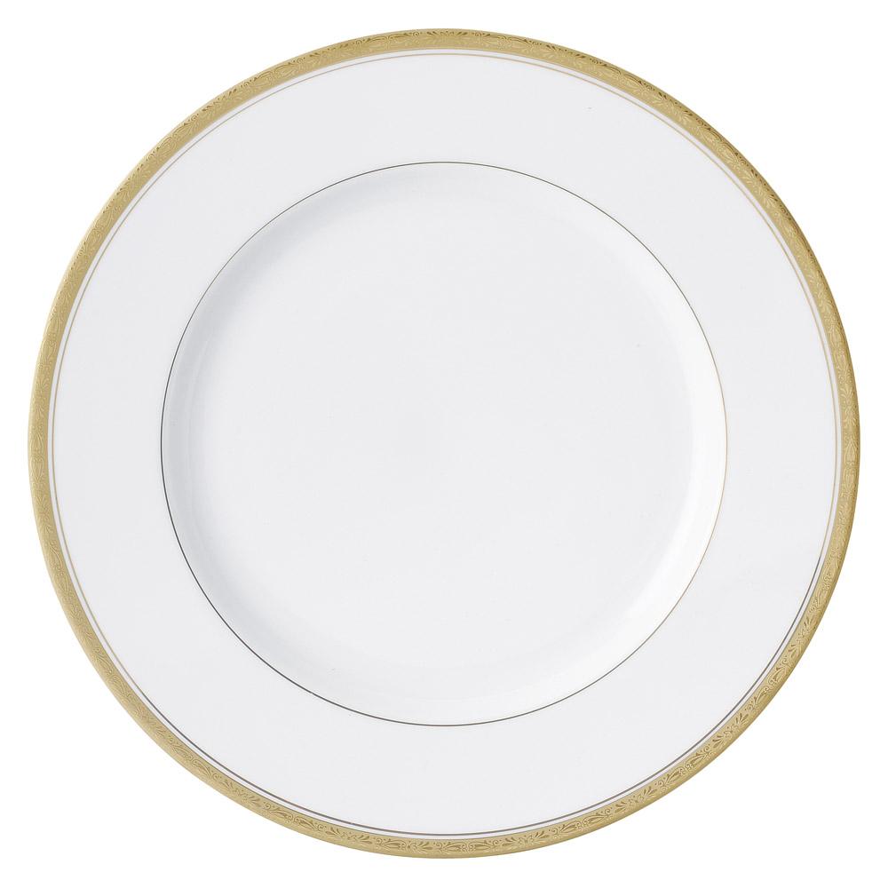 洋陶オープン Y・Sゴールド 12吋プレスプレート [ 31 x 2.7cm ] | 大皿 プレート ビック パーティ 人気 おすすめ 食器 洋食器 業務用 飲食店 カフェ うつわ 器 おしゃれ かわいい ギフト プレゼント 引き出物 誕生日 贈り物 贈答品