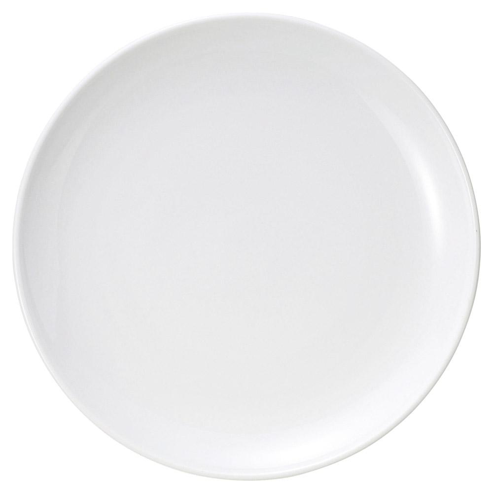 中華オープン ウルトラホワイト中華(強化) 14吋メタ皿 [ 35 x 3.5cm ] 【料亭 旅館 和食器 飲食店 業務用】