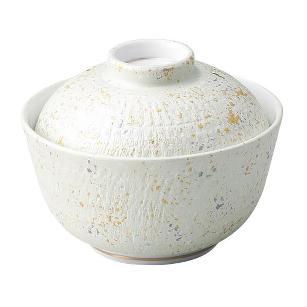 緑とちり煮物碗 [ φ12 x 10cm ] [ 円菓子碗 ] | 飲食店 和食 旅館 ホテル 業務用