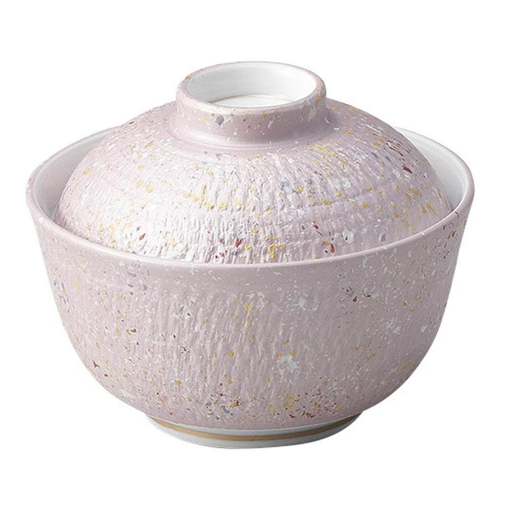 紫とちり煮物碗 [ φ12 x 10cm ] [ 円菓子碗 ] | 飲食店 和食 旅館 ホテル 業務用