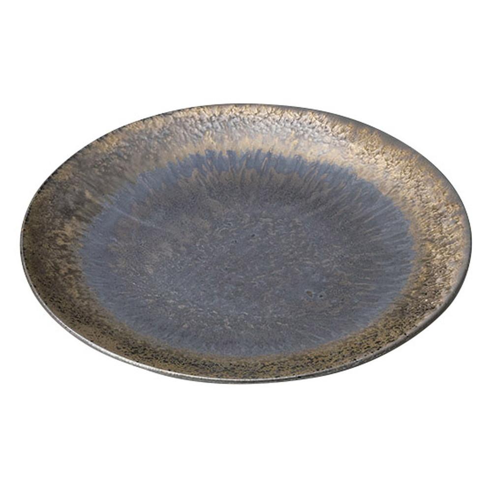 逆鱗 8寸皿 [ φ26 x 2.3cm ] [ 丸大皿 ] | 飲食店 和食 旅館 ホテル 業務用