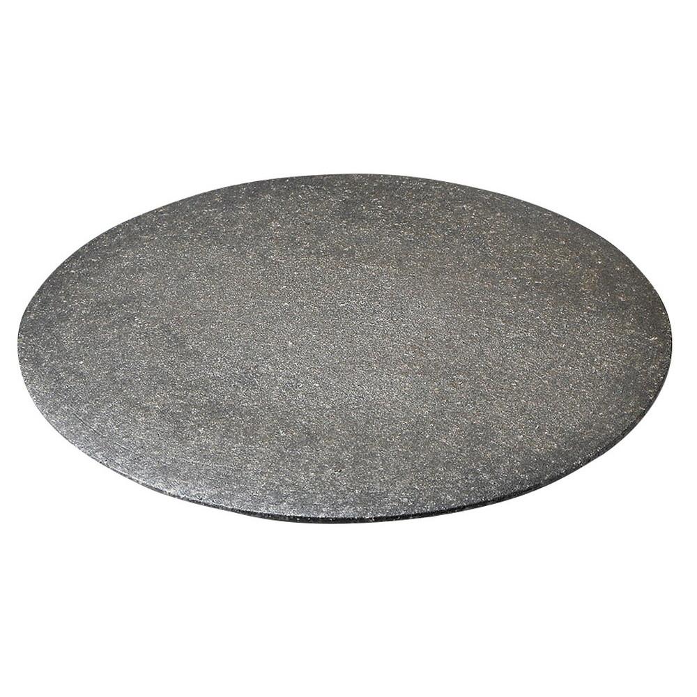 黒窯変5.5高台皿 [ φ18 x 3.2cm ] [ 丸中皿 ] | 飲食店 和食 旅館 ホテル 業務用