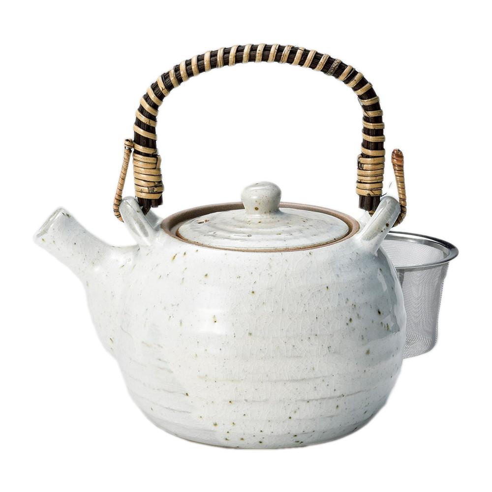 粉引青磁8号土瓶 [ φ15 x 12cm(1140cc) ] [ 土瓶 ] | 飲食店 和食 日本食 定食屋 お茶 業務用