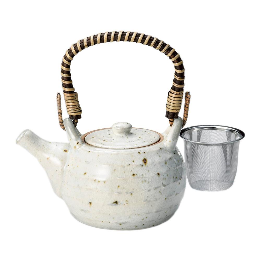 粉引青磁4号土瓶 [ φ13.2 x 9.2cm(645cc) ] [ 土瓶 ] | 飲食店 和食 日本食 定食屋 お茶 業務用
