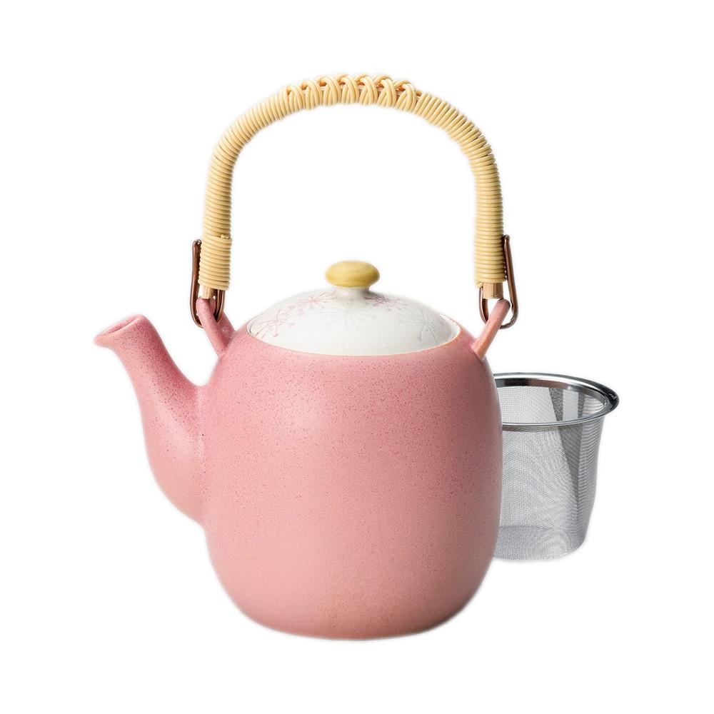 京香 土瓶(茶コシ付) [ φ7 x 12.5cm(650cc) ] [ 土瓶 ] | 飲食店 和食 日本食 定食屋 お茶 業務用