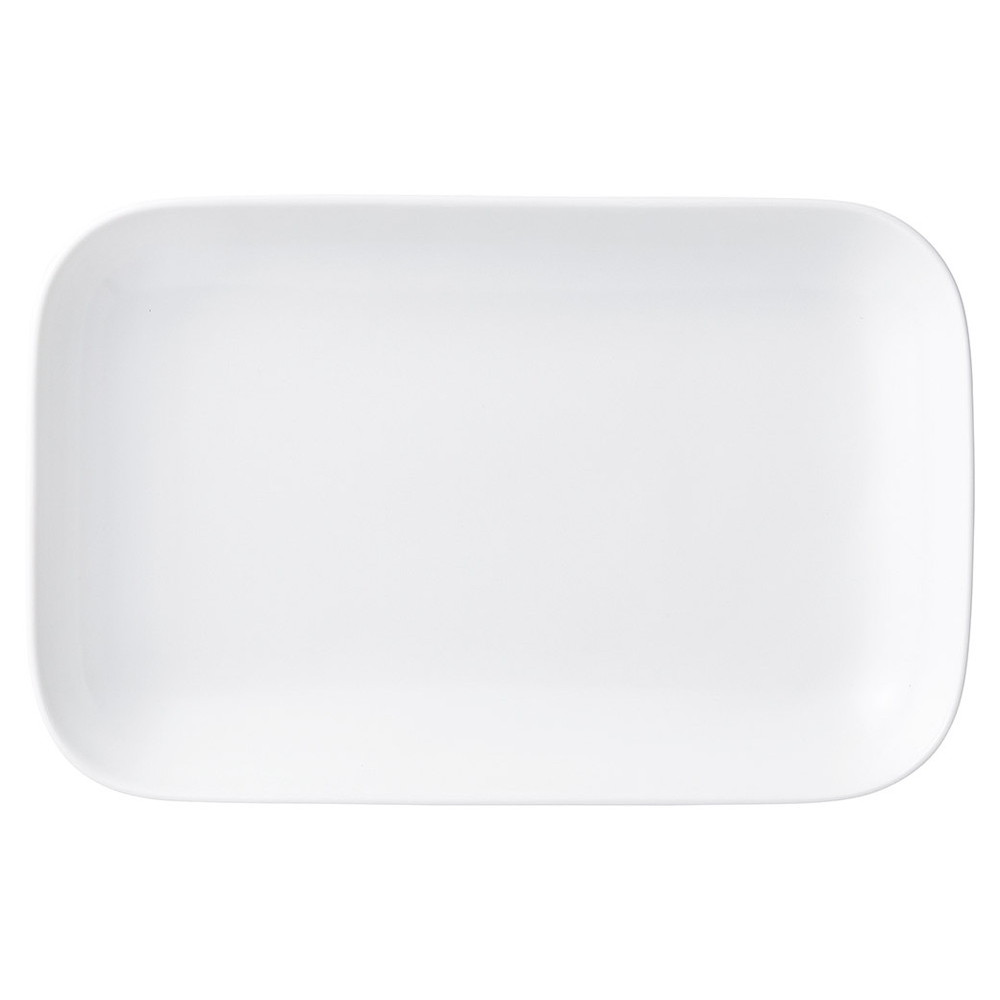 ブランホワイト パーティ(大) [ 31 x 20 x 4.5cm ] [ 大皿 ] | レストラン ホテル 洋食 イタリアン 業務用