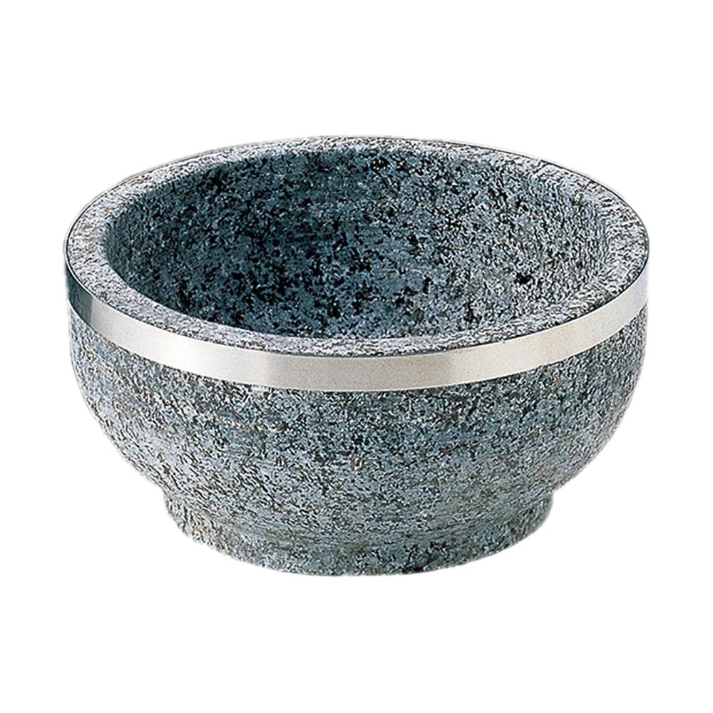 (石)石焼ビビンバ18cmステン巻 [ φ18 x 7.4cm ] [ ビビンバ丼 ] | 韓国料理 飲食店 アジア料理 ダイニング 業務用