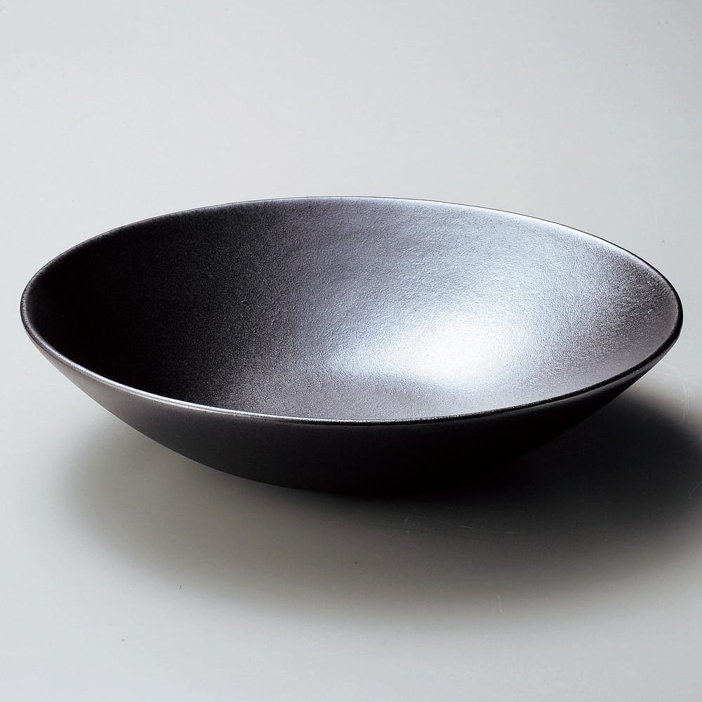 ☆ 大鉢 ☆ GinSai盛皿 [ φ34 x 8.5cm ] 【 料亭 旅館 和食器 飲食店 業務用 】