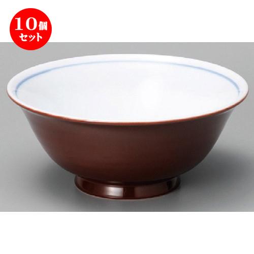 10個セット☆ 中華丼 ☆ 軽量茶吹6.3丼 [ 19 x 82mm ] 【中華食器 ラーメン店 飲食店 業務用 】