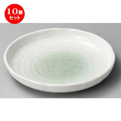 10個セット ☆ 丸皿 ☆ 新緑10.0丸皿 [ 265 x 42mm ] 【料亭 旅館 和食器 飲食店 業務用 】