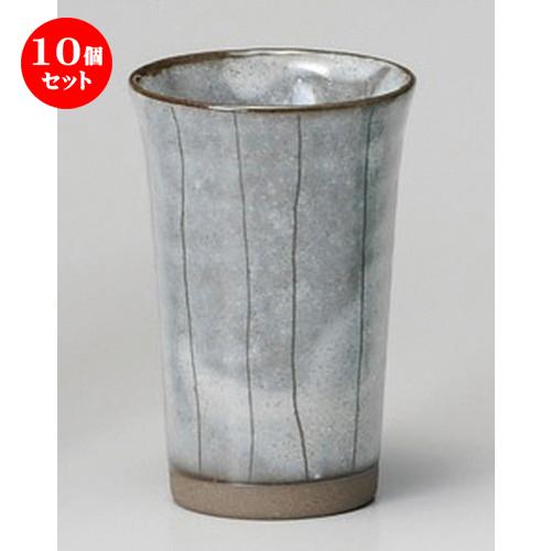 10個セット☆ フリーカップ ☆ 十草スマートカップ(白) [ 80 x 115mm ] 【居酒屋 割烹 旅館 和食器 飲食店 業務用 】