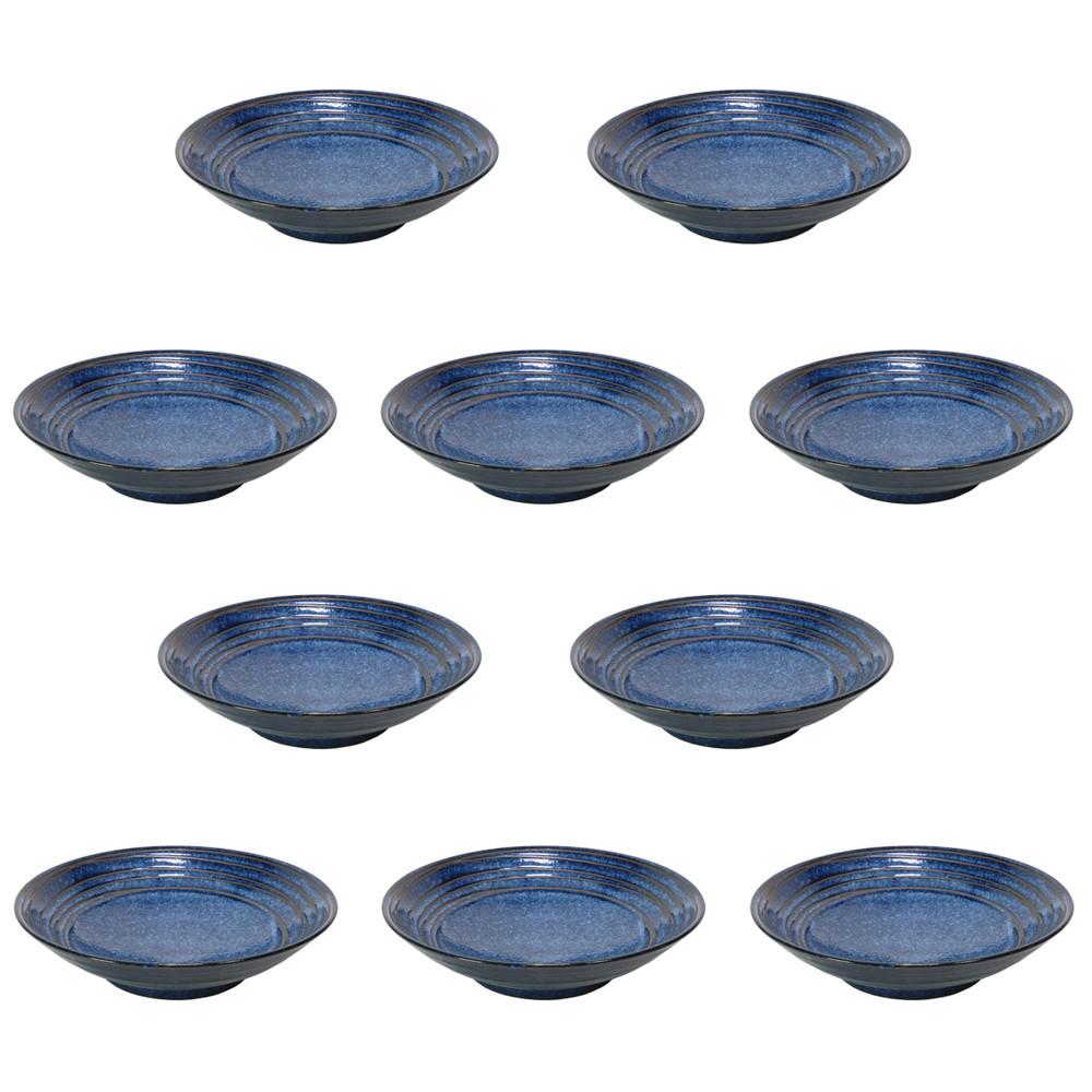 10個セット☆ 麺皿 ☆ 雲海8.0平丼 [ 248 x 62mm ] 【蕎麦屋 定食屋 和食器 飲食店 業務用 】