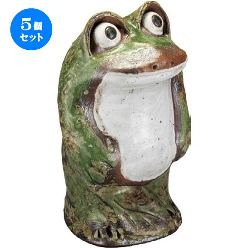 5個セット☆ 置物 ☆ 出目立ち蛙 (大) [ 170 x 290mm ] 【インテリア 置物 かわいい カエル 】
