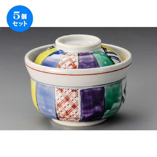 5個セット☆ 円菓子 ☆ 紙風船円菓子碗 [ 115 x 90mm ] 【料亭 旅館 和食器 飲食店 業務用 】