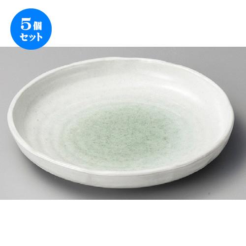 5個セット☆ 丸皿 ☆ 新緑10.0丸皿 [ 265 x 42mm ] 【料亭 旅館 和食器 飲食店 業務用 】