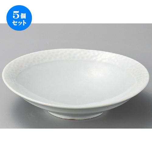5個セット☆ 組鉢 ☆ 青白磁ネオ8.0鉢 [ 255 x 60mm ] 【料亭 旅館 和食器 飲食店 業務用 】