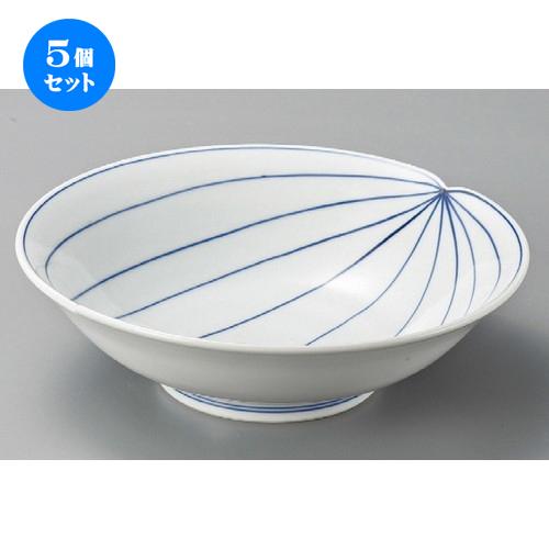 5個セット☆ 組鉢 ☆ 山帰来8.0鉢 [ 248 x 74mm ] 【料亭 旅館 和食器 飲食店 業務用 】