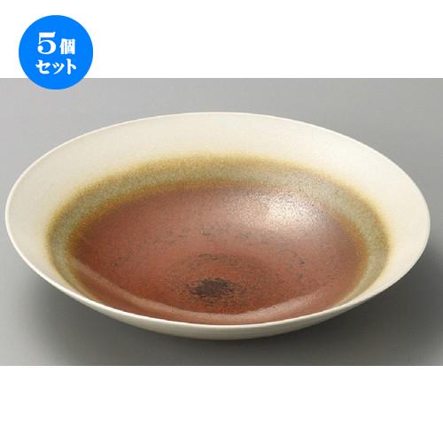 5個セット☆ 萬古焼大皿 ☆ 灰釉10.0鉢 [ 310 x 70mm ] 【料亭 旅館 和食器 飲食店 業務用 】