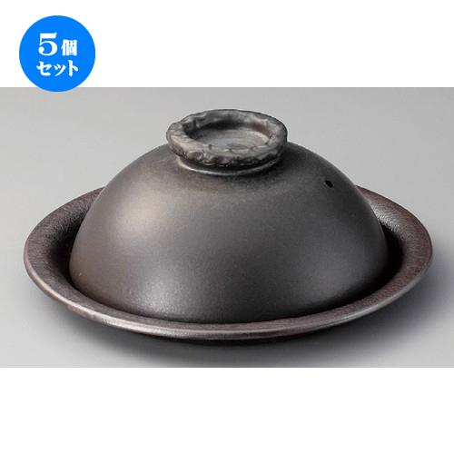 5個セット☆ 信楽焼陶板 ☆ 黒釉10.0陶板 [ 300 x 125mm ] 【料亭 旅館 和食器 飲食店 業務用 】