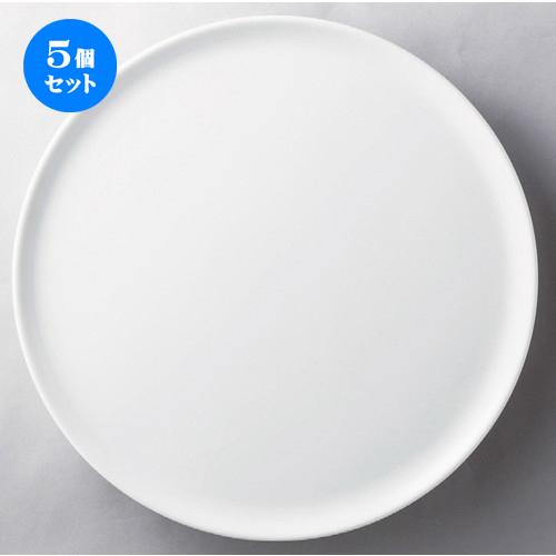 5個セット☆ ビュッフェ ☆ 12吋丸ケーキプレート [ 315 x 17mm ] 【レストラン ホテル 飲食店 洋食器 業務用 】