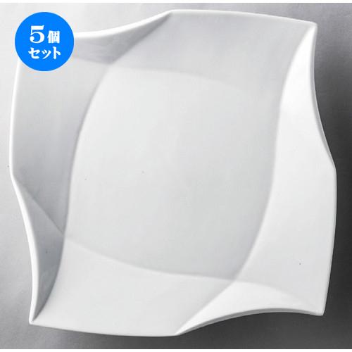 5個セット☆ 洋食器 ☆ 白磁12吋クラフトプレート [ 305 x 35mm ] 【レストラン ホテル 飲食店 洋食器 業務用 】
