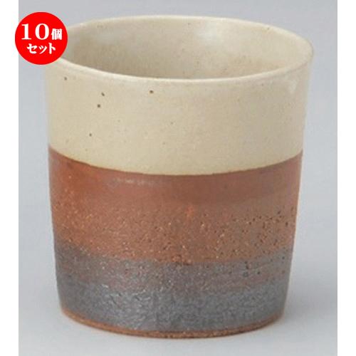 10個セット☆ フリーカップ ☆Wラインフリーカップ [ 9.3 x 9cm (380cc) 235g ] [ 割烹 居酒屋 和食器 飲食店 業務用 ]