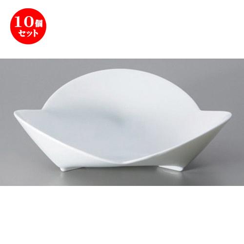 10個セット☆ ボーダーレススタイル ☆hanahana3 (M) [ 18.7 x 5.4cm 319g ] 【 ホテル レストラン 洋食器 飲食店 業務用 】