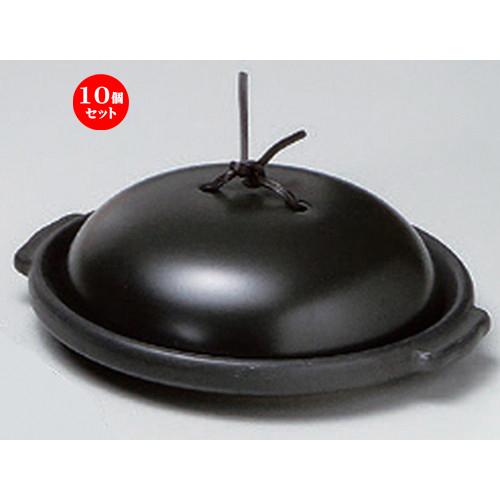 10個セット☆ 耐熱調理器 ☆黒6.0陶板 (組) [ 18.3 x 16.7 x 5.7cm 634g ] 【 カフェ レストラン 洋食器 飲食店 業務用 】