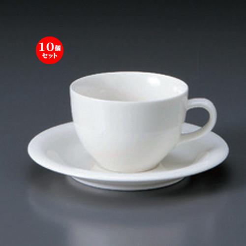 10個セット☆ コーヒーカップ ☆FW紅茶C/S [ 10.2 x 8.6 x 5.8cm 200cc ・ 14.6 x 1.8cm ・ 315g ] 【 カフェ レストラン 洋食器 飲食店 業務用 】