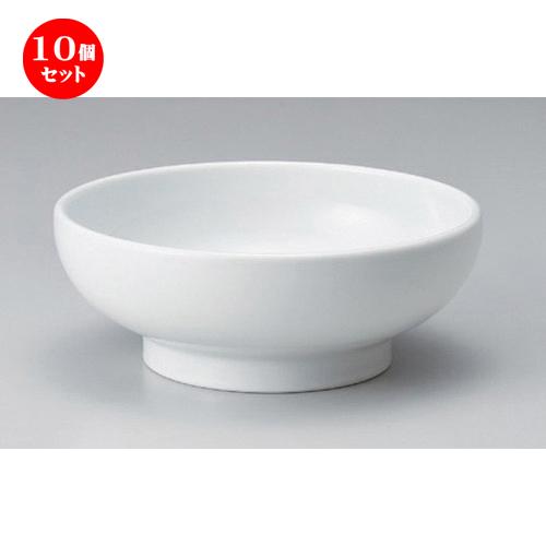10個セット☆ ラーメン鉢 ☆白マルチ丼 [ 19 x 7.3cm 607g ] 【 ラーメン店 中華食器 飲食店 業務用 】