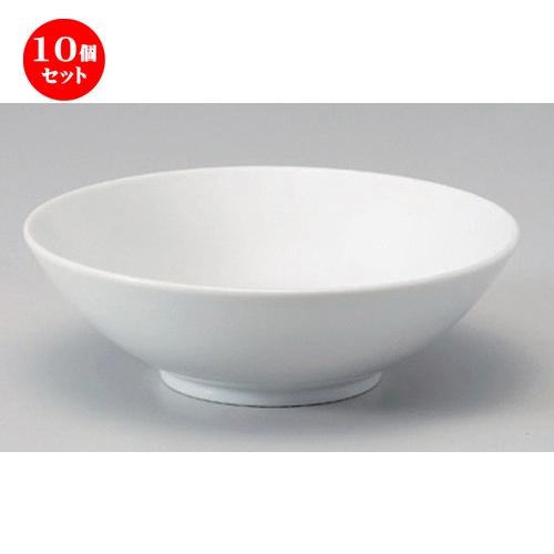 10個セット☆ ラーメン鉢 ☆6.5丸丼 [ 19.5 x 6.7cm 573g ] [ ラーメン店 中華食器 飲食店 業務用 ]