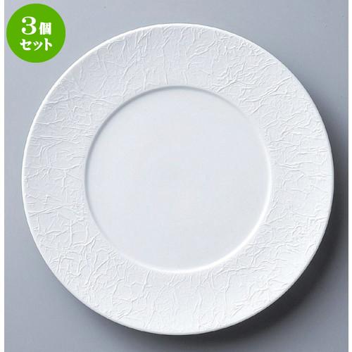 3個セット☆ ボーダーレススタイル ☆WASHIビスク27cmディナー [ 27.5 x 2.4cm 767g ] 【 ホテル レストラン 洋食器 飲食店 業務用 】