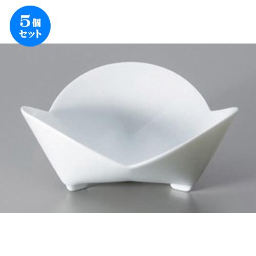 5個セット☆ ボーダーレススタイル ☆hanahana3 (S) [ 12.8 x 5.2cm 155g ] [ ホテル レストラン 洋食器 飲食店 業務用 ]