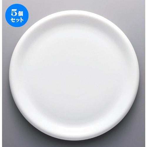 5個セット☆ ボーダーレススタイル ☆ブリオ32cmプレート [ 32 x 3.1cm 1250g ] [ ホテル レストラン 洋食器 飲食店 業務用 ]