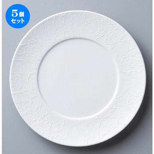 5個セット☆ ボーダーレススタイル ☆WASHIビスク27cmディナー [ 27.5 x 2.4cm 767g ] 【 ホテル レストラン 洋食器 飲食店 業務用 】
