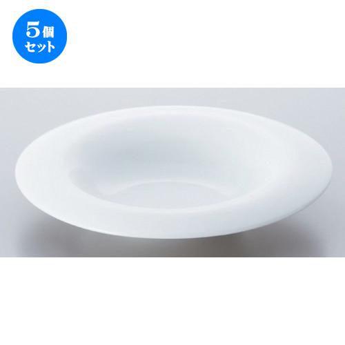 5個セット☆ ボーダーレススタイル ☆ペリート25cmスライドスープ [ 24.5 x 25.4 x 2.8cm 655g ] 【 ホテル レストラン 洋食器 飲食店 業務用 】