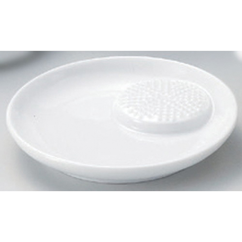 ☆ Side 猪口揃 ☆ white porcelain ツキオロシ small dish [107 g of 10.6 x 1.8cm]