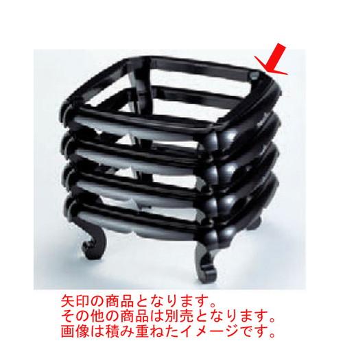 お膳 太閤足 黒塗 ABS樹脂 (7-734-2) 【料亭 旅館 和食器 飲食店 業務用】