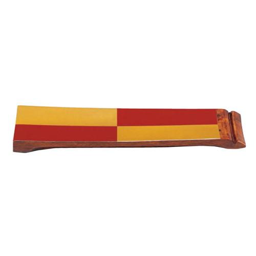 盛器 樽盛器4号朱金市松 [40 x 12 x 3cm] 木製品 (7-716-10) 【料亭 旅館 和食器 飲食店 業務用】