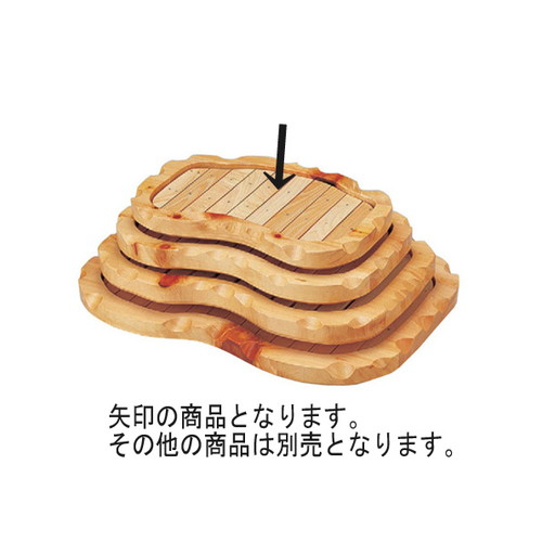 盛器 越前盛込器(小) [41 x 30 x 6cm] 木製品 (7-720-1) 【料亭 旅館 和食器 飲食店 業務用】
