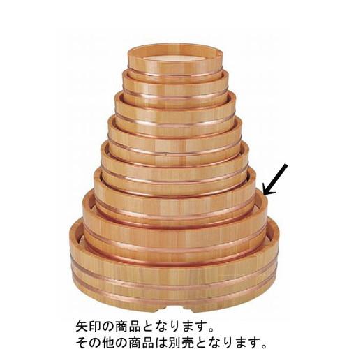 盛器 丸桶(スノ子付)尺4寸 [42.6φ x 10.4cm] 木製品 (7-721-1) 【料亭 旅館 和食器 飲食店 業務用】