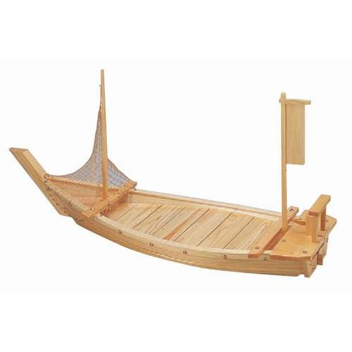 盛器 盛込舟(国産)(網別売)6尺 [180 x 52cm] 木製品 (7-723-11) 【料亭 旅館 和食器 飲食店 業務用】