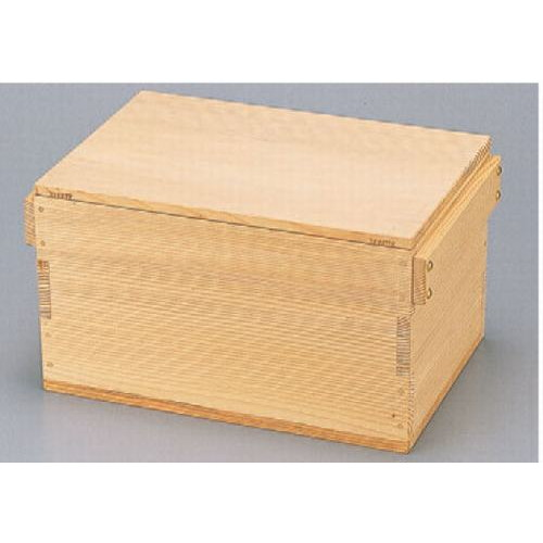 盛器 角びつ3升用 [39 x 27 x 21.5cm] 木製品 (7-722-5) 【料亭 旅館 和食器 飲食店 業務用】
