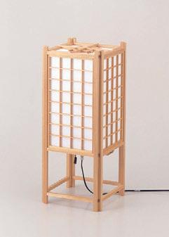 客室用品 行燈NO.79-2N折畳式白 [18.5 x 18.5 x 45.5cm] 木製品 (7-911-17) 【料亭 旅館 和食器 飲食店 業務用】
