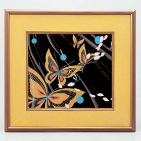 パネル パネル蝶 [41.1 x 38cm] (7-914-22) 【料亭 旅館 和食器 飲食店 業務用】