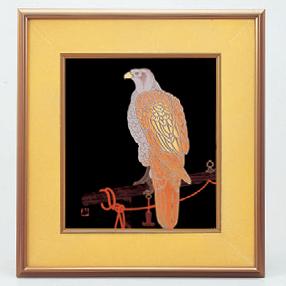 パネル パネル鷹(エポック) [38 x 41.1cm] (7-914-17) 【料亭 旅館 和食器 飲食店 業務用】