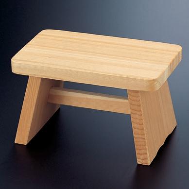 風呂用品 風呂椅子(大) [30 x 18 x 30cm] 木製品 (7-916-4) 【料亭 旅館 和食器 飲食店 業務用】