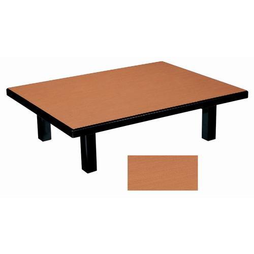 座卓 メラミン 白木(折足) [120 x 45 x 32.5cm] (7-762-5) 【料亭 旅館 和食器 飲食店 業務用】