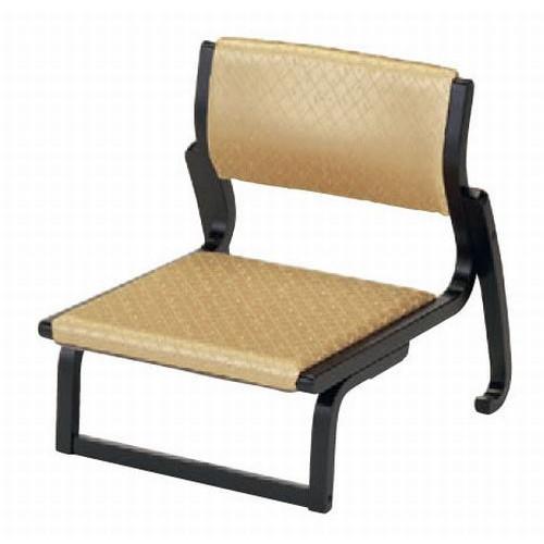 末永くお使い頂ける優れた製品をお届けいたします バーゲンセール 旅館 和食器 飲食店 業務用 テーブル 中高椅子 ベージュ 布 木製品 x H55 SH23.5cm 58 52.8 激安通販販売 料亭 7-758-7