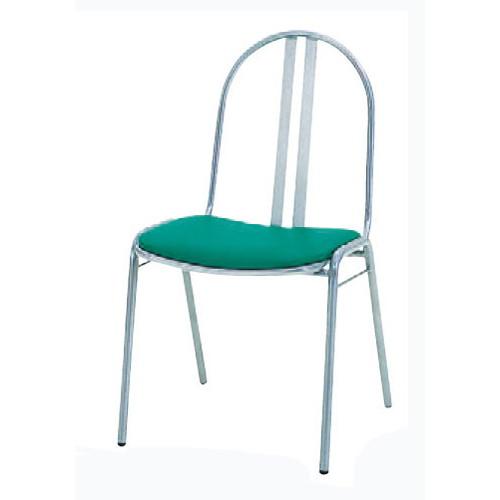 椅子 スチールチェアS-11 [46 x 55 x H81 x SH44cm] SP (7-778-9) 【料亭 旅館 和食器 飲食店 業務用】